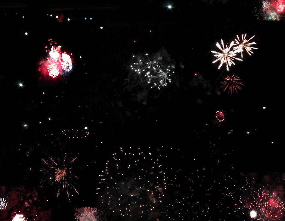 Cosmos (Fireworks Study)